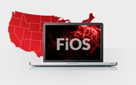 frontier fios triple play map