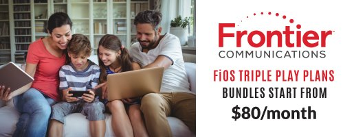 frontier fios triple play