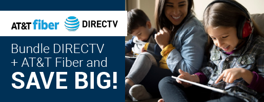 AT&T Fiber Internet plus DIRECTV Triple Play Bundle Deals